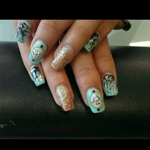 classy fun nails
