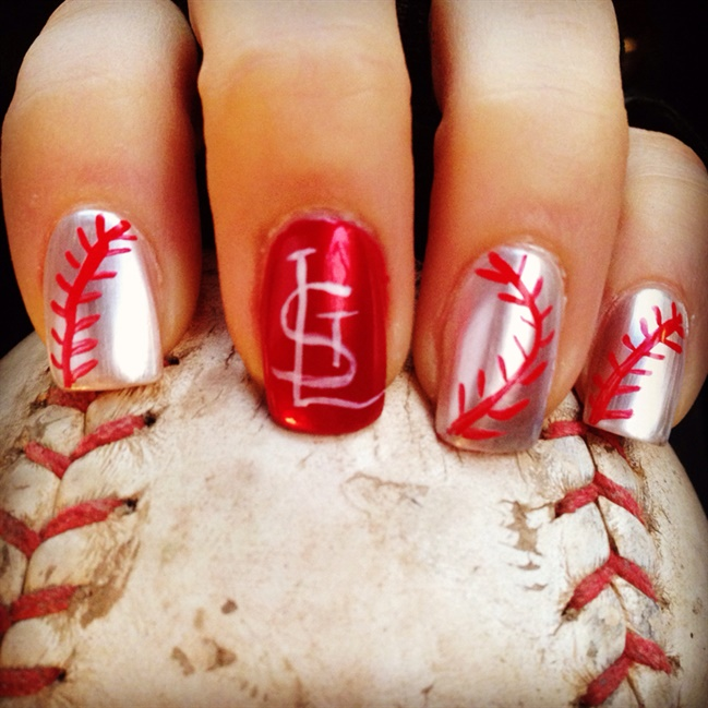 Nail Art Gallery baseball Nail Art Photos