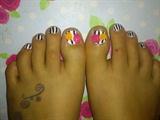 pinstripe toes!