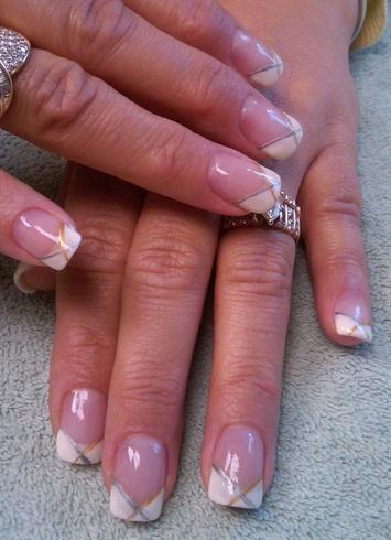 Cindy's Chevron Nails