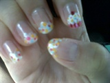 cupcakes - drawn w/ my left hand