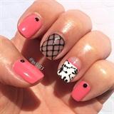 Spring Melon Gel Manicure