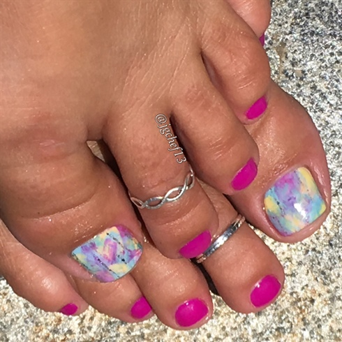 Color Washed Pedicure
