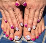 Matching Pedicure & Gel Manicure