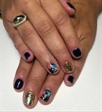 Tropical Gel Manicure
