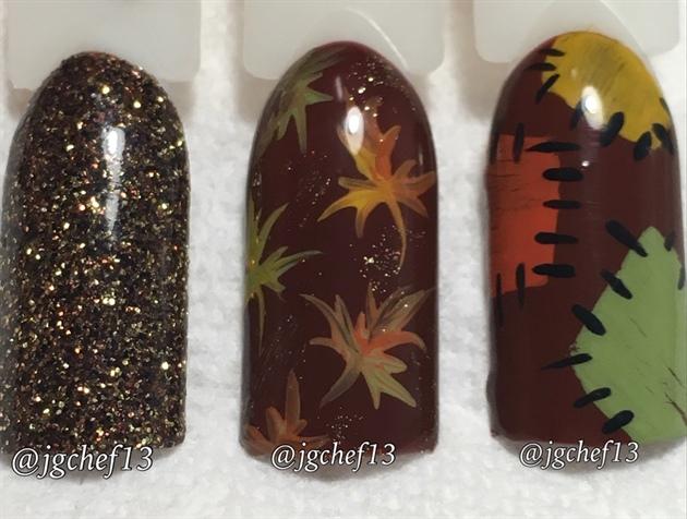 Fall Nail Design Samples