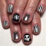 Nightmare Before Christmas Gel Manicure