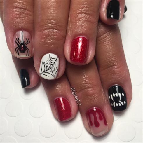 Bloody Scary Gel Manicure