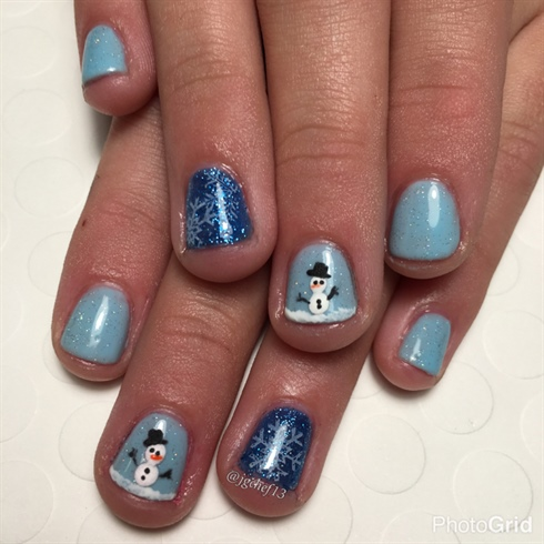 Snowmen & Snowflakes For My Young Client