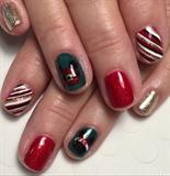 Mickey & Minnie Christmas Manicure