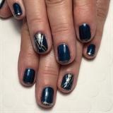 Art Deco NYE Manicure