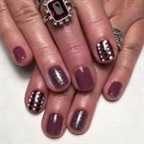 Plum Crazy Gel Manicure