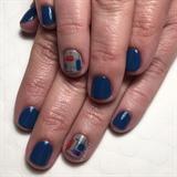 Modern Art Gel Manicure