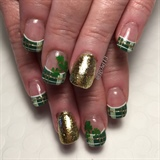 St Patrick's Day Plaid & Shamrocks