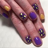 Spring Leopard Manicure