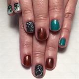 Tink & Ariel Birthday Manicure