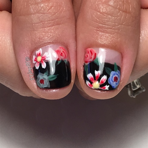 Gucci Inspired Manicure