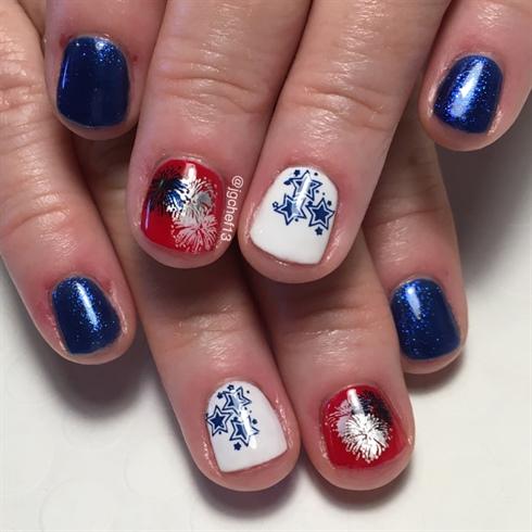 Patriotic Manicure