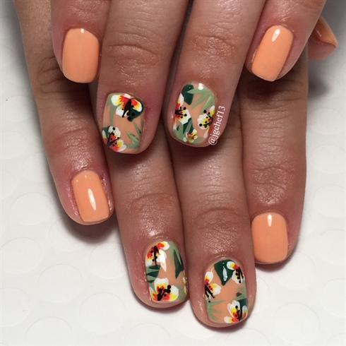 Tropical Getaway Manicure