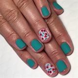 Vintage Cherry Manicure