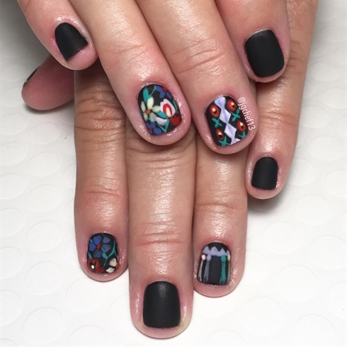 Gucci NYFW Inspired Manicure