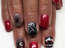 Sexy Vampy Manicure