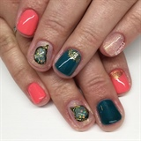 Mehndi & Opal Stones