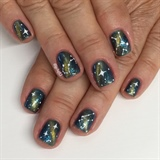 Mother's Day Galaxy Manicure