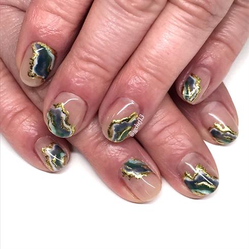 Agate geodes