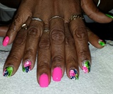 Free Style with neon pink