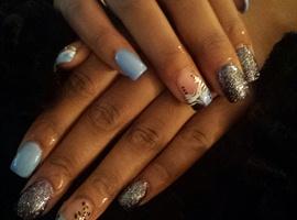 nail art: Make my day