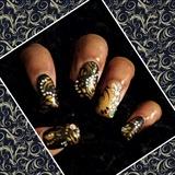 Black and Gold Vintage