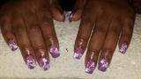 Purple Floral