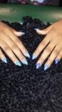 Galaxy Nails 2...mood change gel