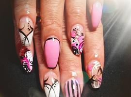nail art: Nails by Jekeia aka Jade