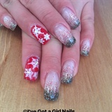 Christmas Glitter Fade