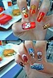 McDonald's nails design