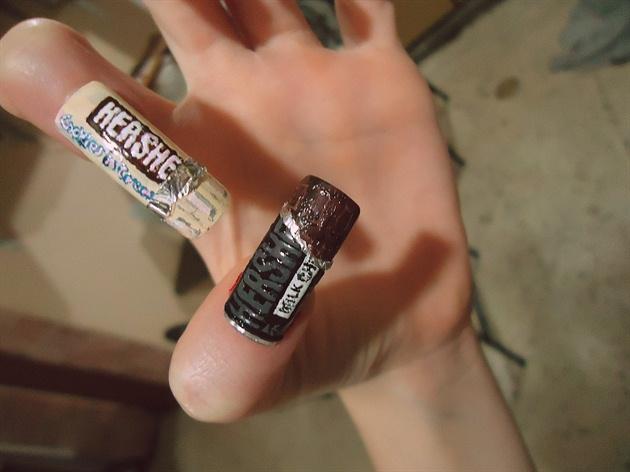 Hershey's nails.