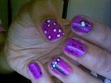 1st attempt @ nail art