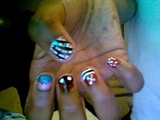 Kiddie nail art