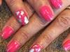 Shellac Mani w/ Glitter & Foil