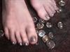 Patti's toes