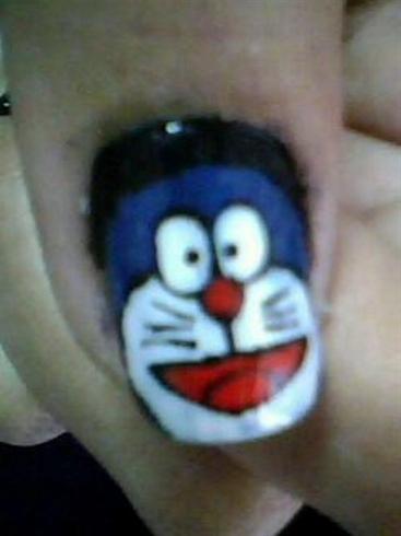 Doraemon Nail Art Gallery