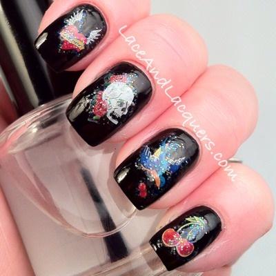 NA09-38 Skulls and Cherries