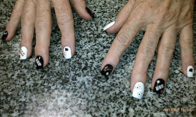 Vegas baby nail art gallery prinsesfo Choice Image