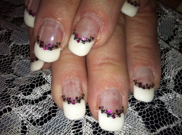 Bedazzled French Tip