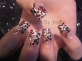 Black & Pink Zebra/Chettah