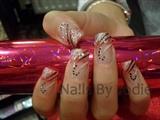 Pink & Black Sparkle