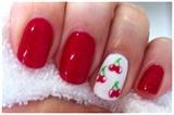 Hand Painted Cherry