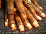 Glitter me Orange
